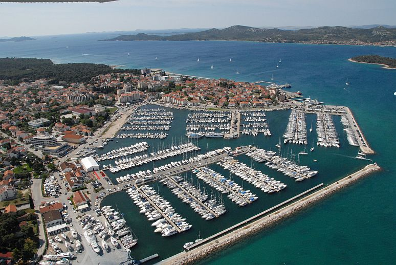 Marina Kornati, the unofficial yachting centre of Northern Dalmacia.