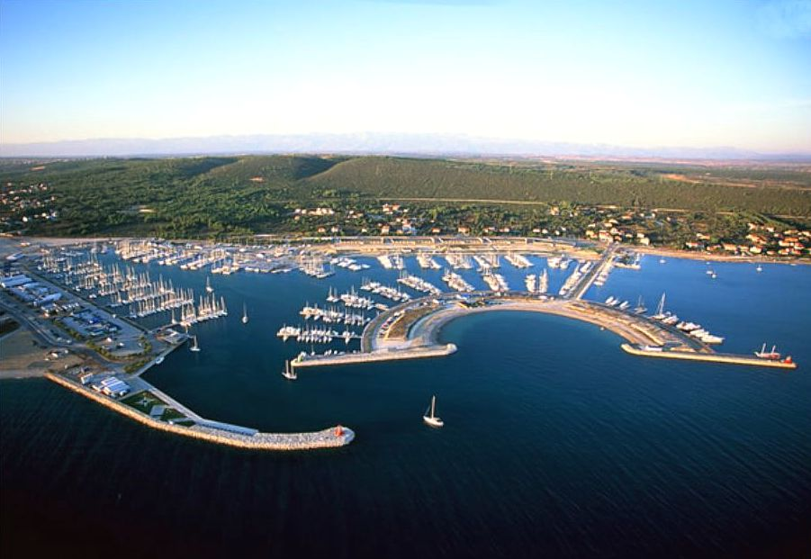 The biggest Croatian marina is situated in the safety of bay of Sukošan.