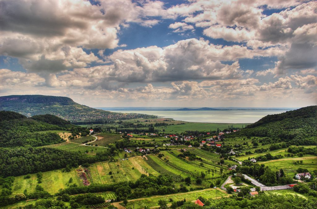 Surrounded by ancient vineyards, lake Balaton provides an unique sailing experience in the mainland Europe.