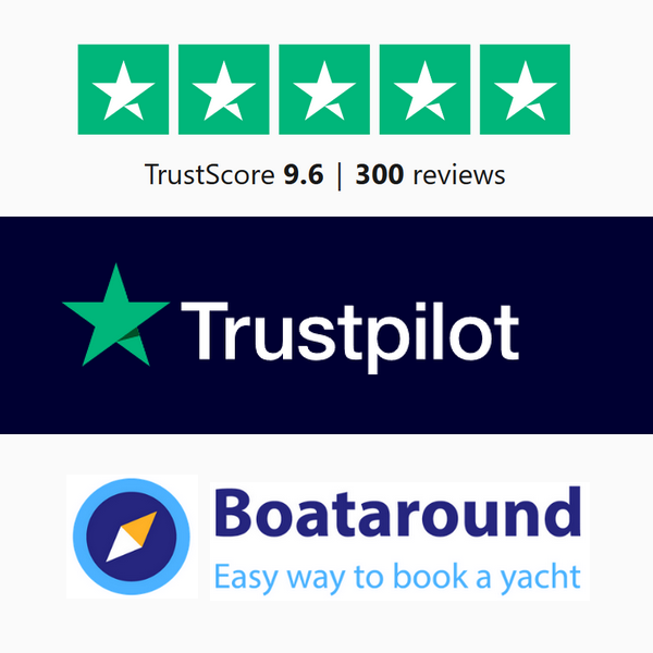 Huge thank you to all of our loyal sailors who took their time to leave us some valuable feedback. We're always striving to be better and we can do so with your help.